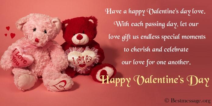 Valentine Messages for lover, girlfriend, wife, husband, boyfriend
